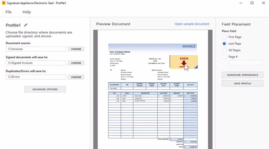 Video: DocuSign Signature Appliance E-Seal add-on